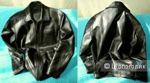 Продам винтажную кожаную куртку Polo Ralph Lauren (р-р S)