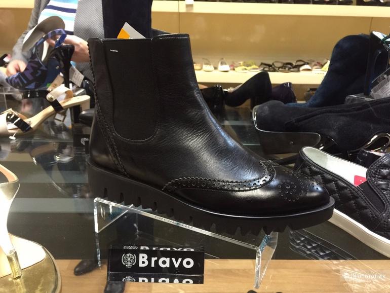 Продам ботинки из натуральной кожи BRAVO 712060  р-р 37