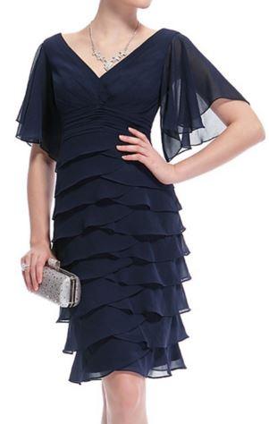 Платье атласное с шифоном, на подкладке
