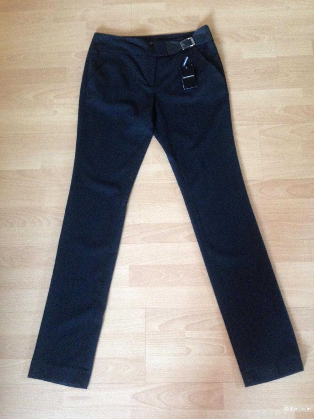 Новые брюки Emporio Armani 46It с кожанным поясом