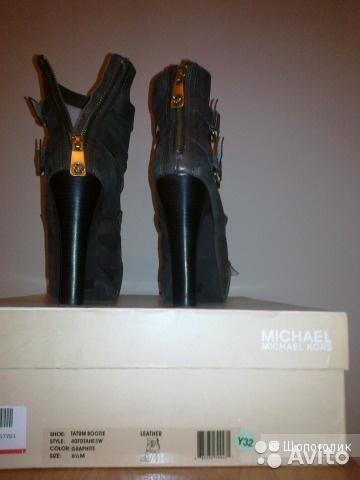 Полусапоги MICHAEL Michael Kors, 36,5 размер