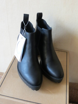Ботильоны Monki Chunky Sole Ankle Boots UK4 (37EU)