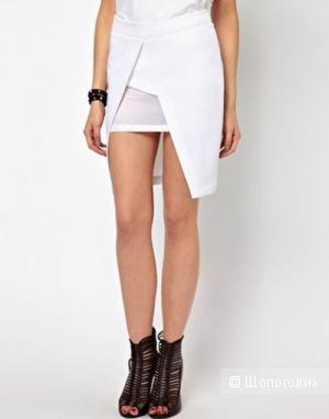 Стильная ассиметрическая юбка Lavish Alice
