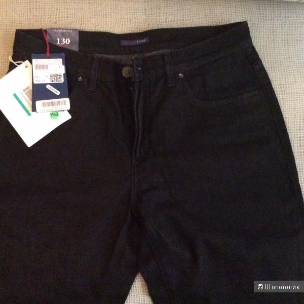 Продаю джинсовые брюки TRUSSARDI JEANS 31р черные