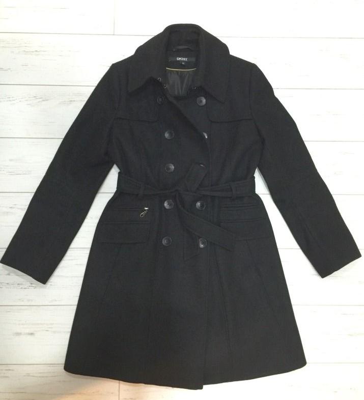 Пальто DKNY шерсть