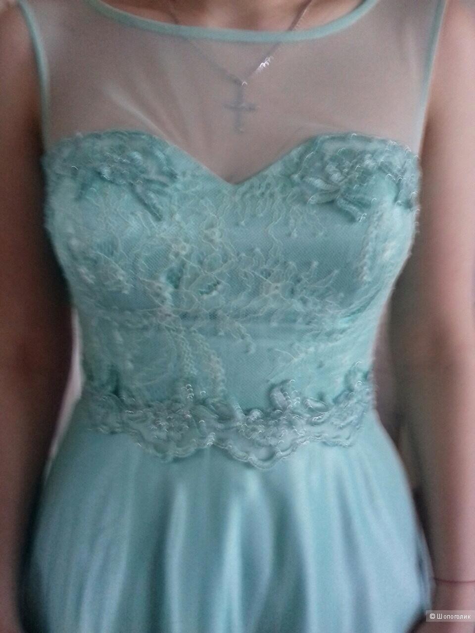 Идеальное вечернее платье на выпускной вечер или свадьбу!!!