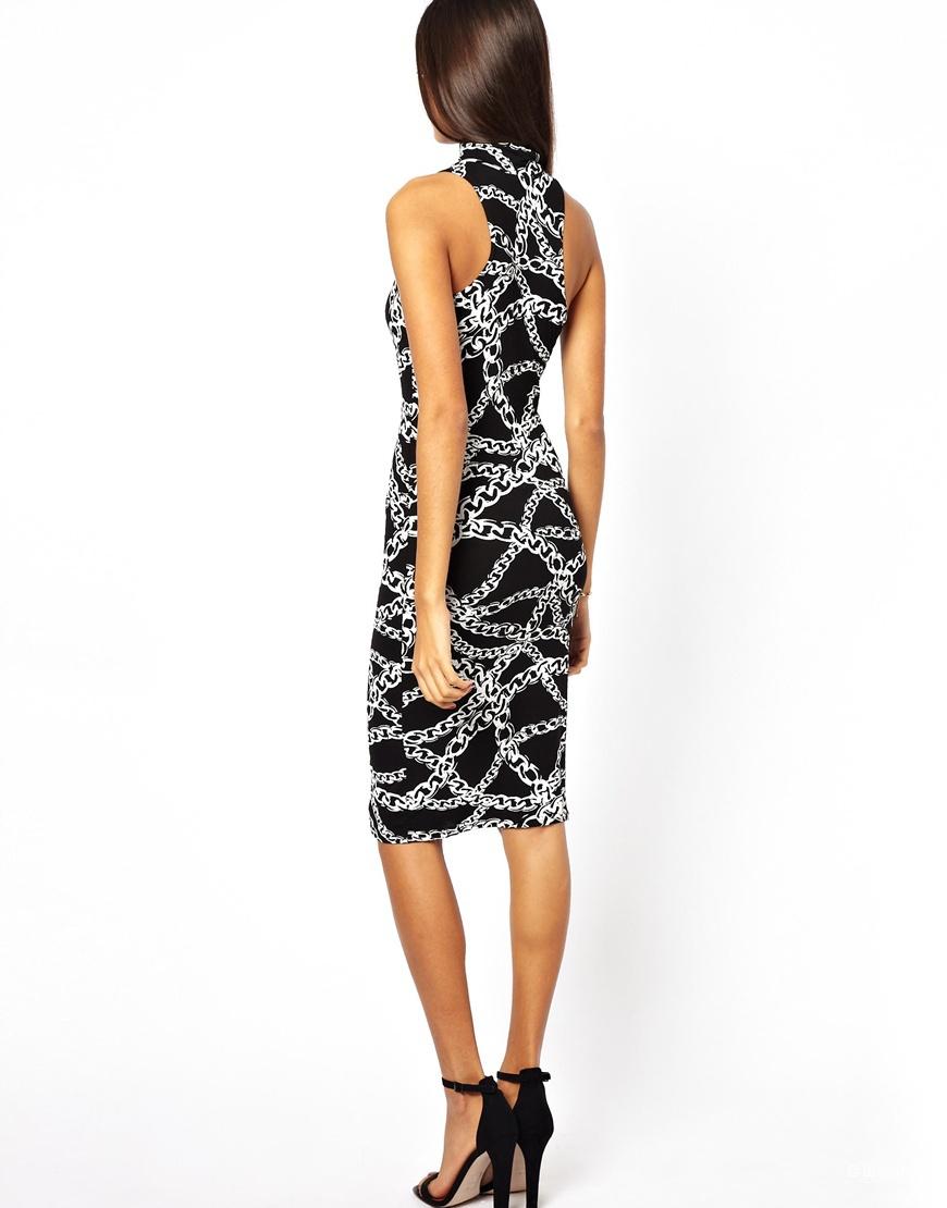 Новое обтягивающее платье Club L (UK 8)