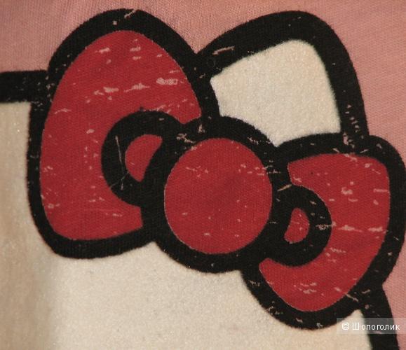 Топ из тонкого хлопка Hello Kitty by Victoria Couture