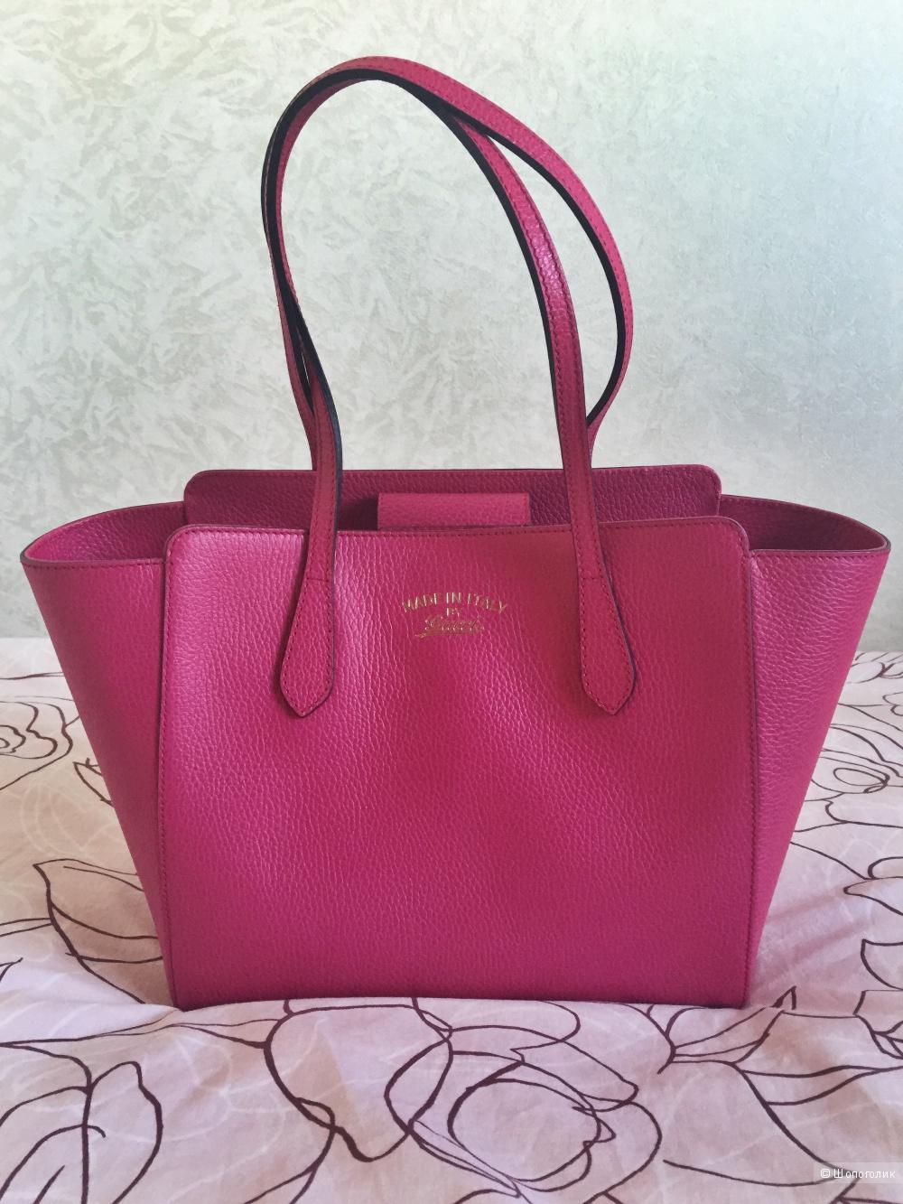 Продам кожаную сумку Gucci оригинал