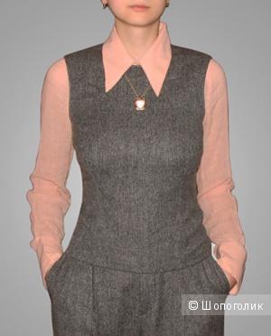 Блузка из тончайшего хлопка Costume National. It 42