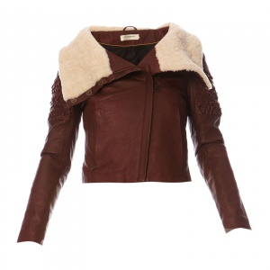 Кожаная куртка Eleven paris
