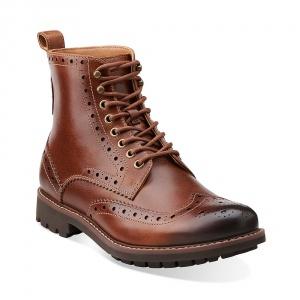 Clarks Of England мужские ботинки высокая шнуровка