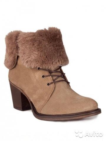 Новые демисезонные ботинки Gant
