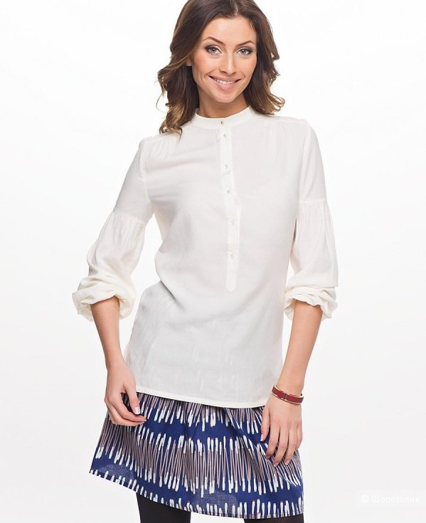 Блузка молочного цвета  Incyti