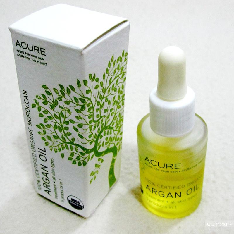 Аргановое масло 100% Acure organics