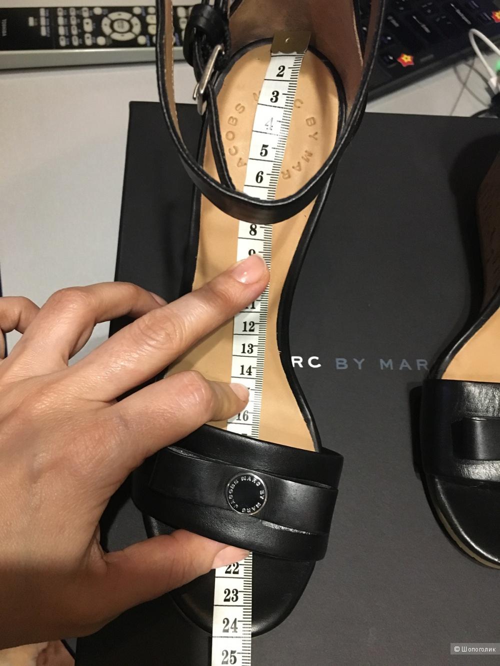 Босоножки на танкетке Marc by Marc Jacobs, оригинал. Черные.