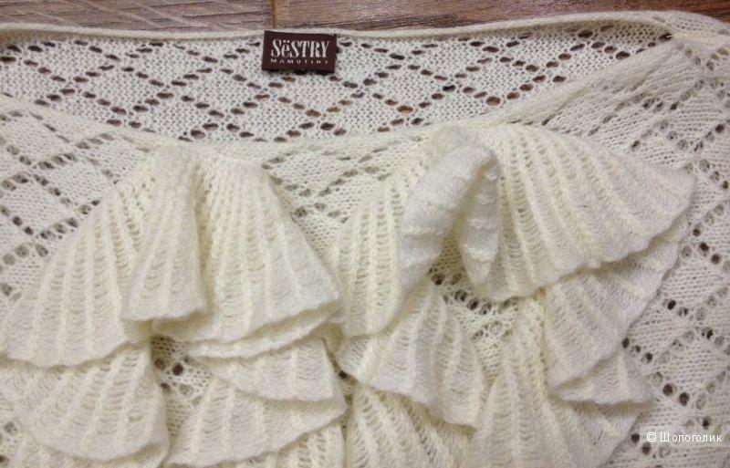 Свитер Sёstry Mamutiny 42 размер. 100% шерсть мериноса! Дизайнерская вещь.