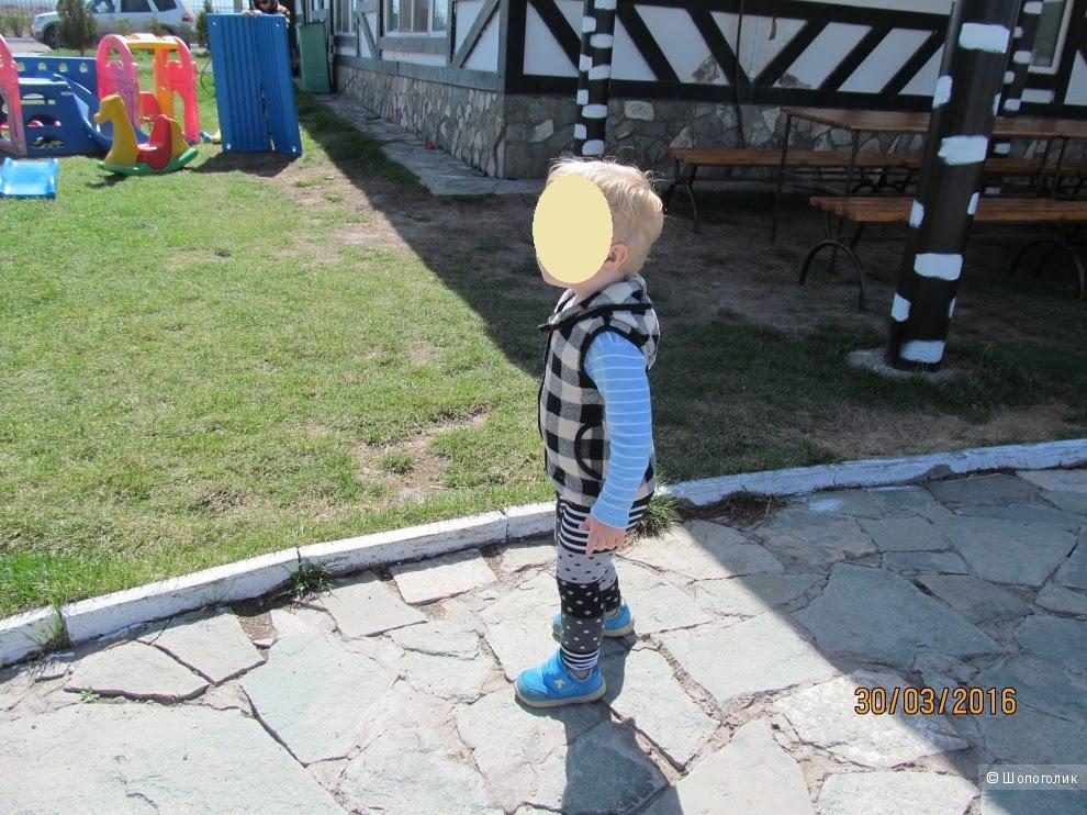 Флисовый жилет детский