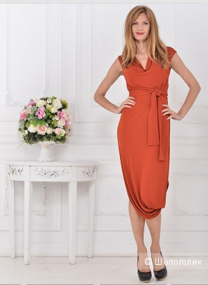Платье российских дизайнеров Katerina Bleska&Tamara Savin 46 размер