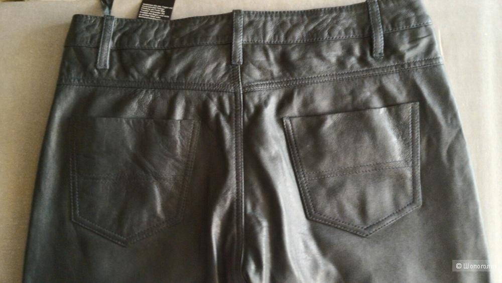 Кожаные штаны Muubaa Verona Skinny Trousers