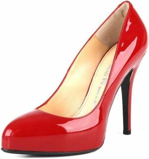 Новые красные лакированные туфли NANDO MUZI (размер 40 на 39-39,5)