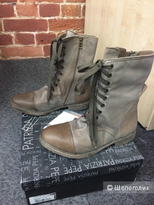 Продам новые ботинки Patrizia Pepe р. 38
