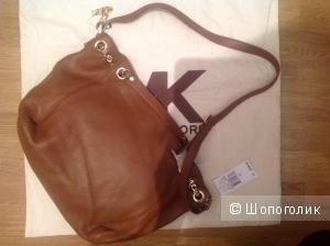 Michael Kors сумка коричневая кожа