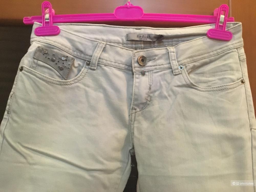 Удлиненные джинсовые шорты, р. 42-44