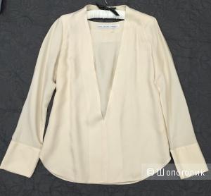 Новая блуза & Other Stories, кремовая, длинные рукава с манжетами