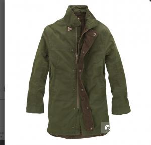Парка Timberland earthkeepers bullbuck coat.цвет коричневый размер L