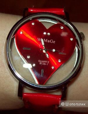"""Часы """"Алое сердце"""""""