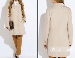 Продам пальто Polo Assn бежевого цвета. Размер 46-48 или 48 XL.