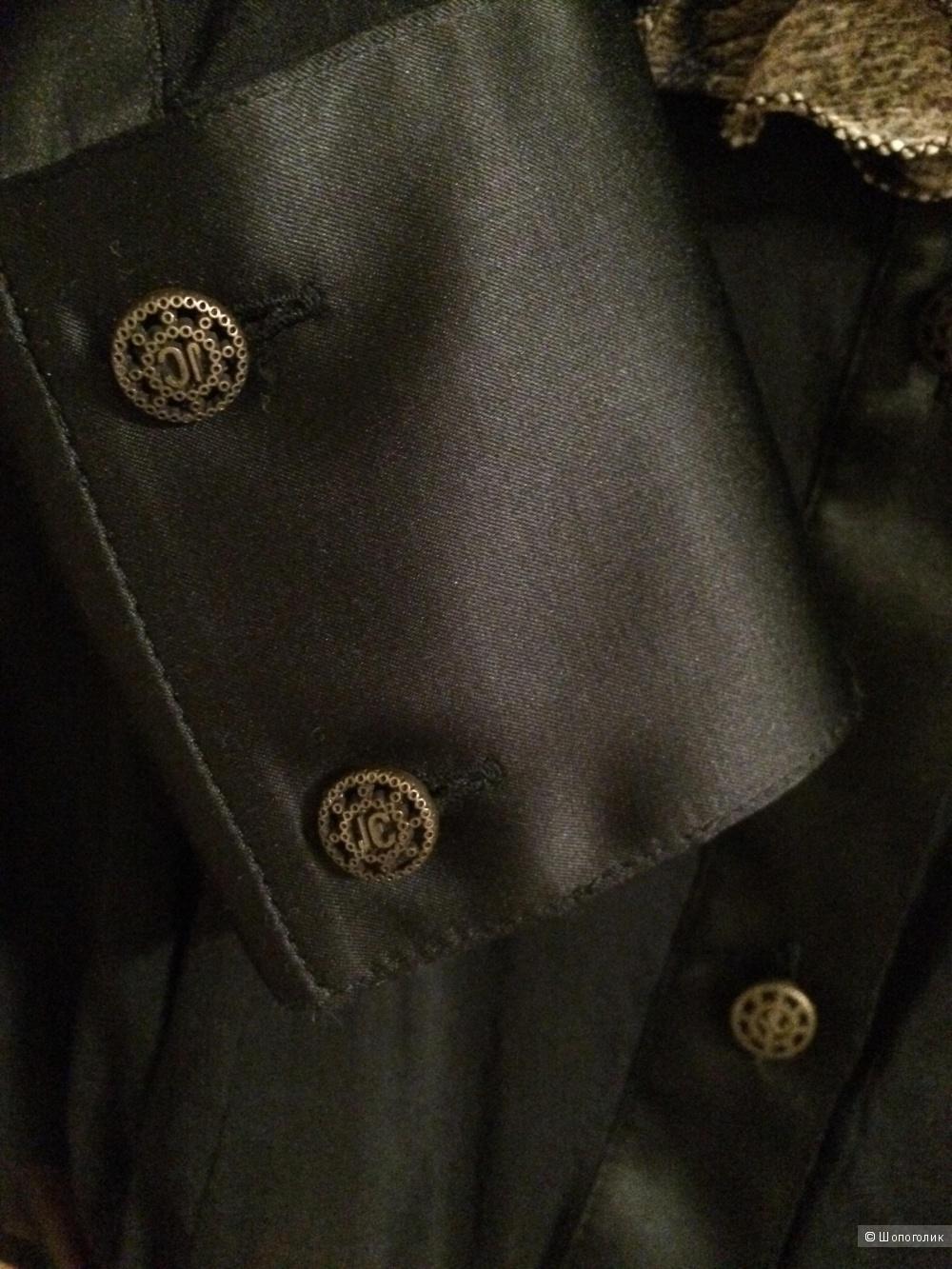 Новая блузка-рубашка Just Cavalli, 38 it, шёлк