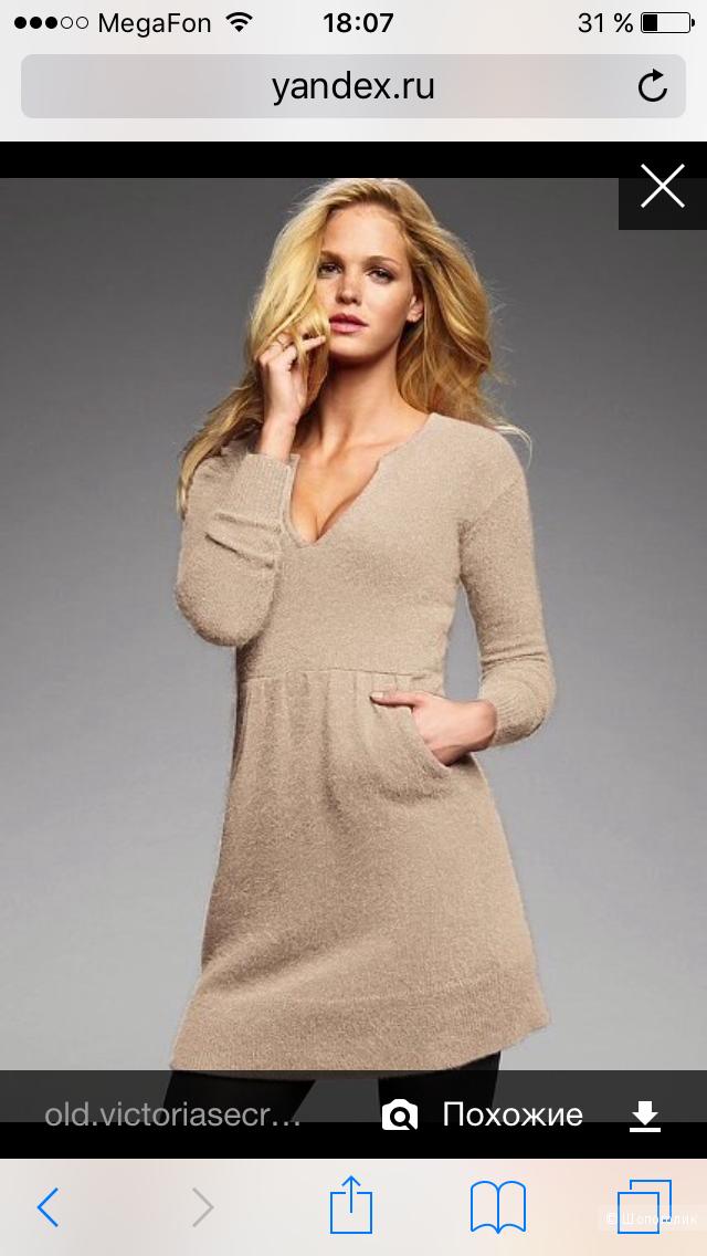 Новое платье Victoria's Secret с ангорой, р-р XS