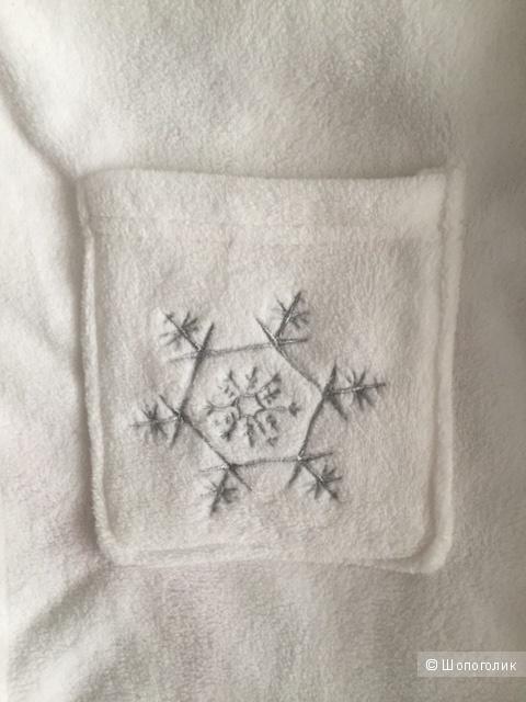Шикарный белый халат