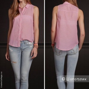 Рубашка Размер  XS. hollisterco
