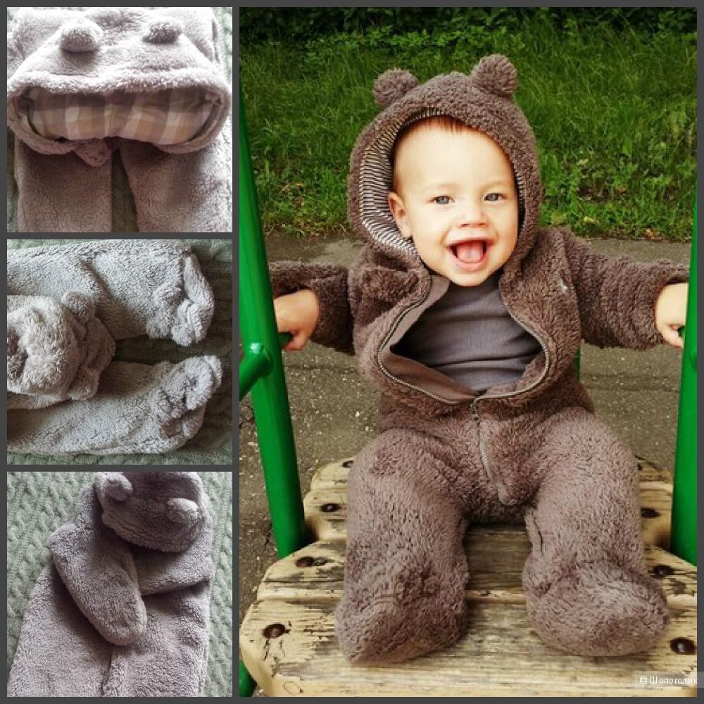 Плюшевый комбез-медвежонок Carters