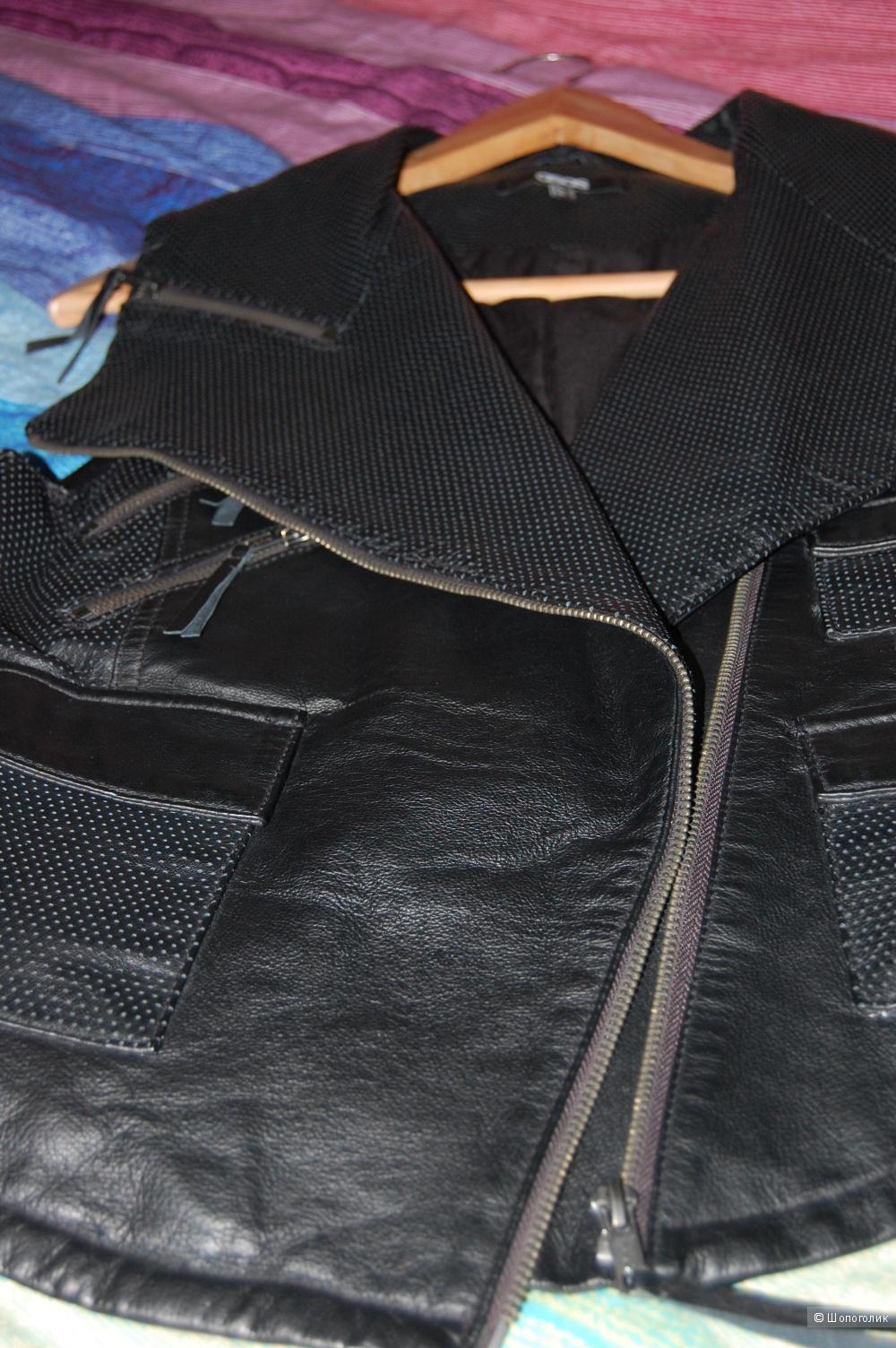 Кожаная жилетка Asos UK8