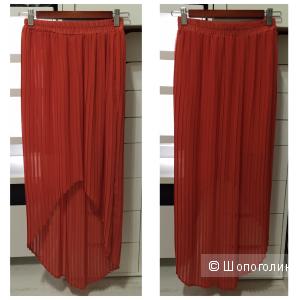 Юбка плиссе асимметричная американского бренда Lush S