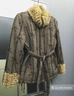 Куртка Vito Ponti с натуральным мехом кролика