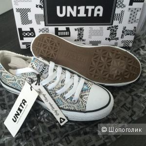 Кеды итальянской марки UN1TA. Новые.