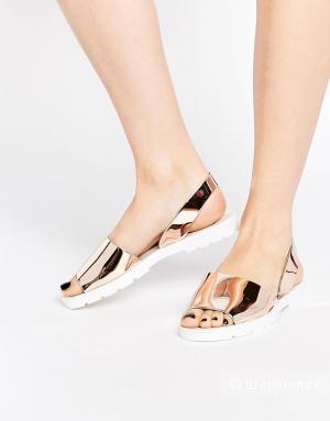 Желейные сандалии ASOS FRENCHY