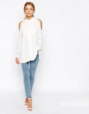 Блузка с открытыми плечами ASOS petite 4 UK