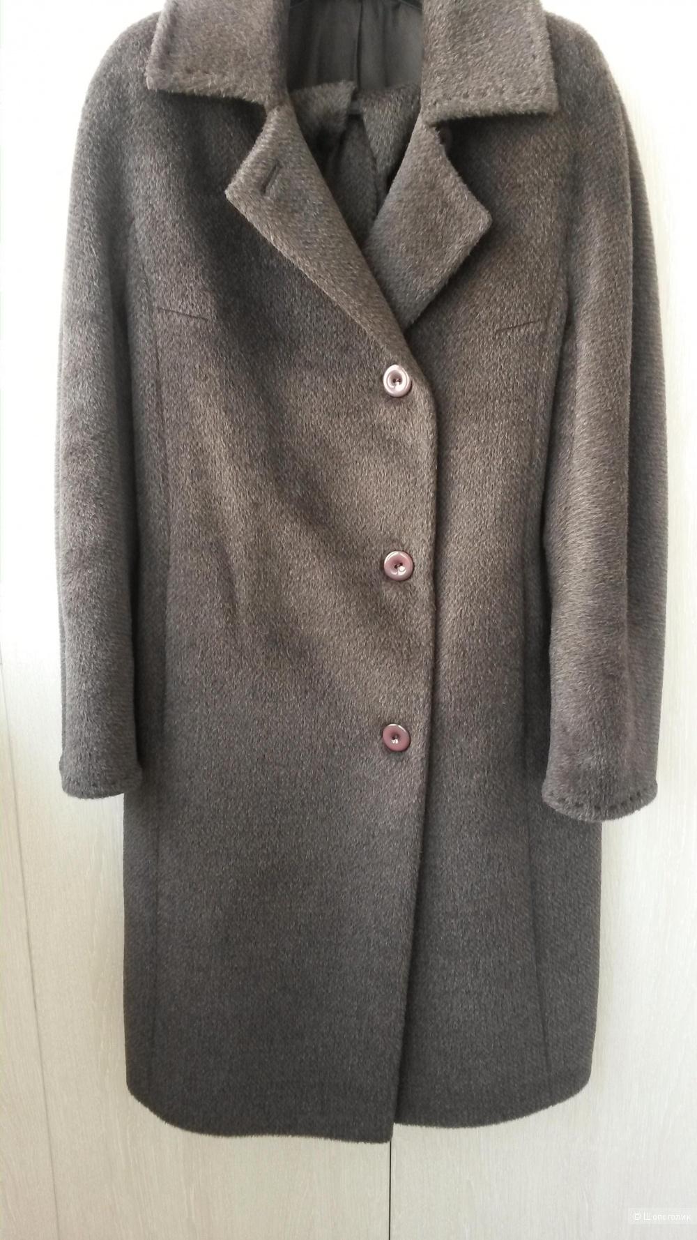 Пальто из альпака