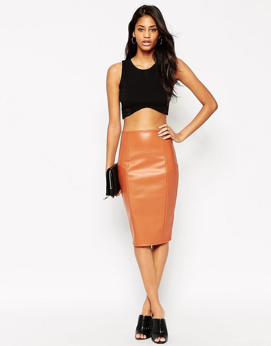 Лучше юбка из натуральной или искусственной кожи