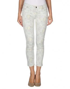 Новые джинсы итальянской фирмы MET  с цветочным принтом 29й размер