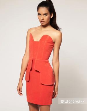 Оригинальные платья кораллового и цвета фуксии Aqua