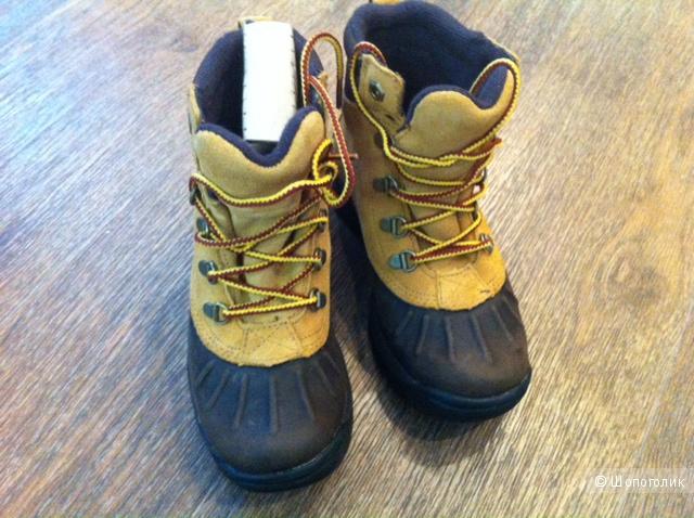 Новые детские ботинки Timberland