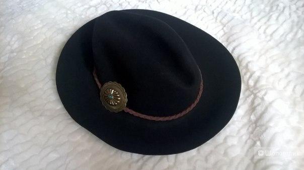 Новая шляпа федора из 100% шерсти