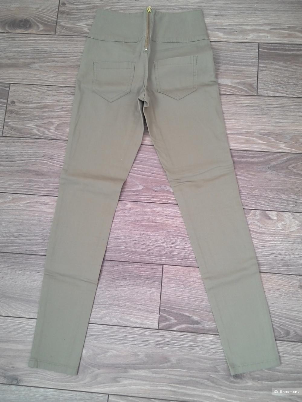 Продам новые брюки PIECES размер S цвет хаки